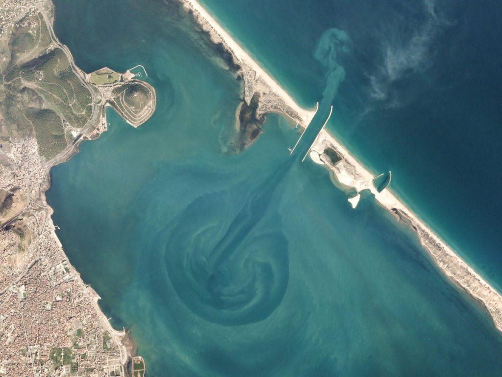 Morocco Mediterranean Beach salt lagoon marchica